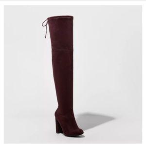 Women's Heeled Thigh High Boots - A New Day